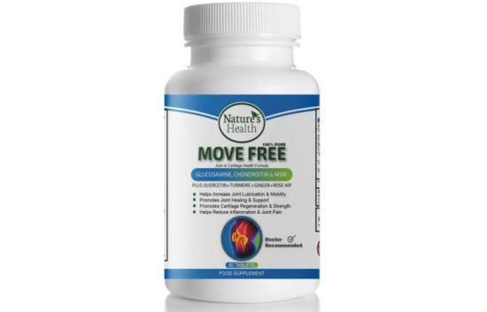 Move Free suppliment by HQM Pharma